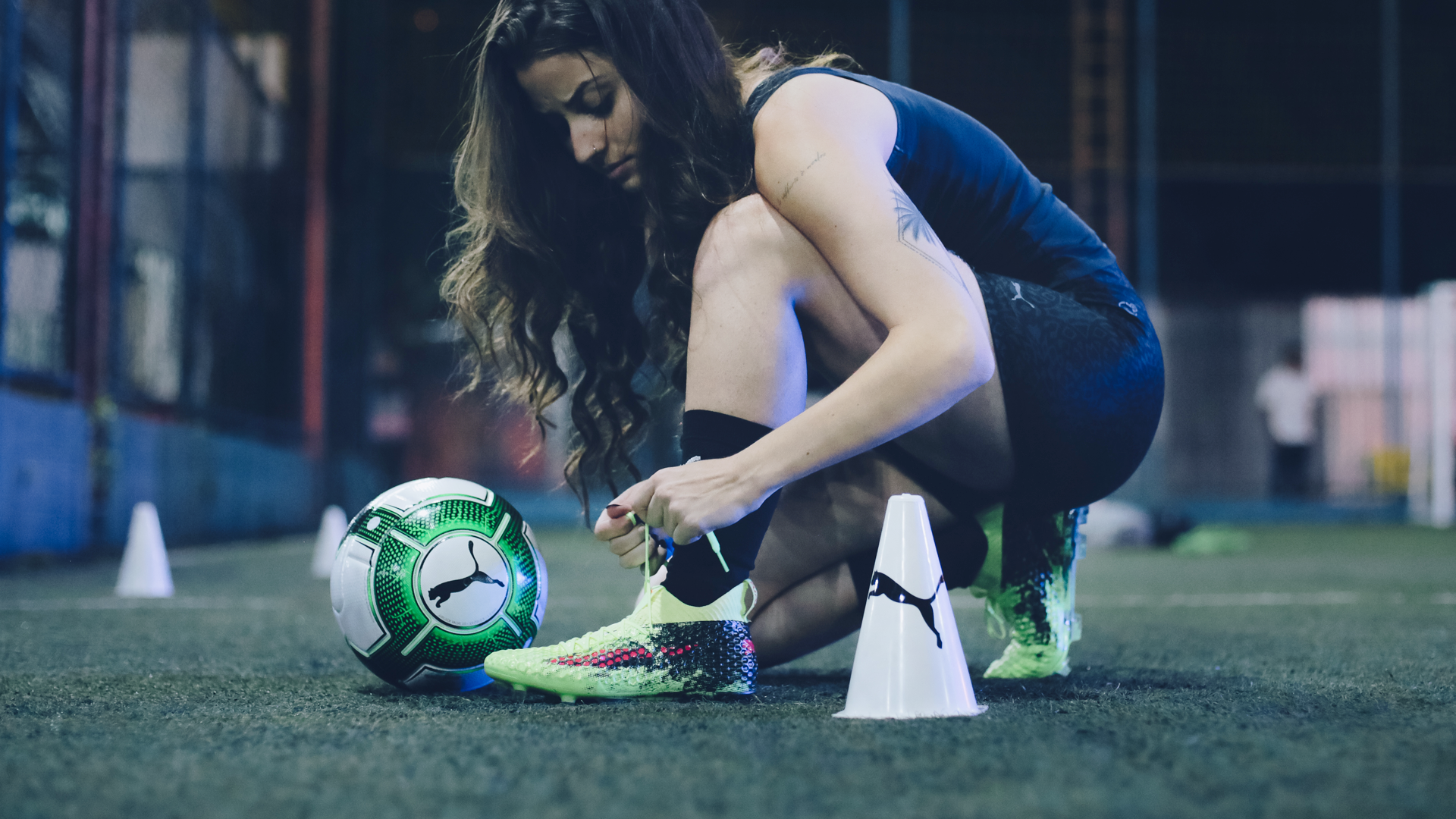 Puma ↳A women's empowerment movement that connects them to play football together.
